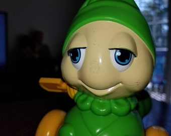 Vintage Glow Worm  Wind -Up Toy