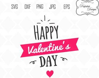 Valentines day svg, valentine svg, valentine clipart, love svg, happy valentines clip art, cricut cut files, silhouette, vector