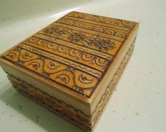 carved German? box