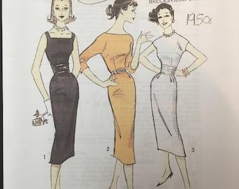 Advance 8515 sheath dress pattern