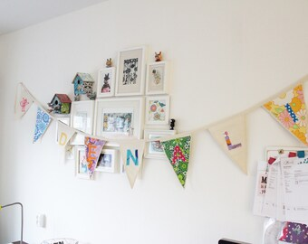Personalized Bunting Flags | Garland