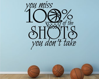 Sports Quote Etsy - Sporting wall decals