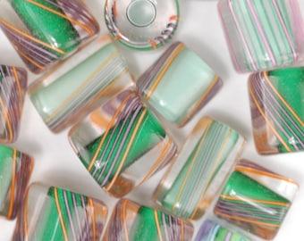 Lucky Clover David Christensen Furnace Glass Beads (75)