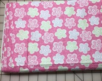 Pastel Floral Print Cotton Woven