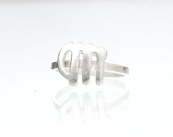 Virgo Ring - Zodiac Ring - Zodiac Midi Ring - Astrology Knuckle Ring - Mercury Ring - Minimal Astrology Ring - Brass Zodiac Sign Jewelry