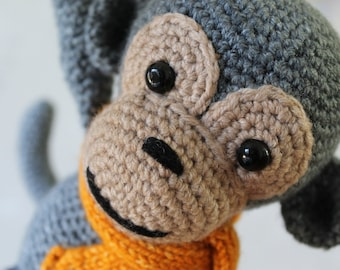 Hand crafted Crochet Monkey
