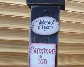 Seasonal WelcomeAll Year Candle holder