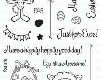 Your Next Stamp Sprinkles Egg extra awesome  Clear Stamps