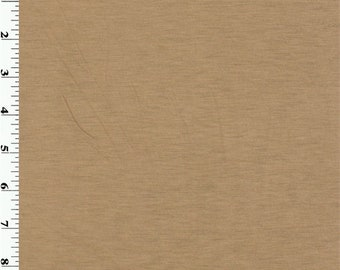 Beige Wool Jersey, Fabric By The Yard