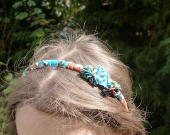 Fabric headband little African folding