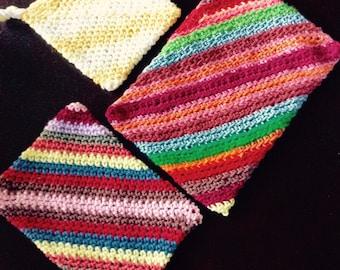 Hand crocheted hotpads