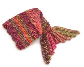 Crochet Mermaid Tail Size Newborn