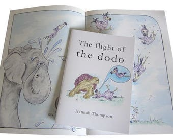 The Flight of the Dodo picture book
