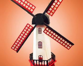 3D SVG Windmill digital download