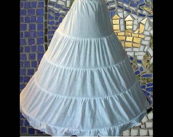 Renaissance Hoop Skirt  for Halloween, Theater, Cosplay, Madrigals, Medieval