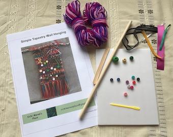 Simple Tapestry Weaving Kit