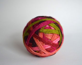 "Dyed to Order: ""In Bloom"" - Green, Peach, Pink, Magenta, Dark Purple, Berry"