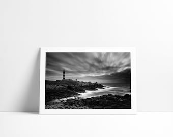 The Creac'h lighthouse ' h Ouessant, Fine Art print signed and numbered