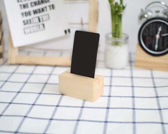 Handcrafted Wood Photo Stand,(can be used for business card, memo stand)