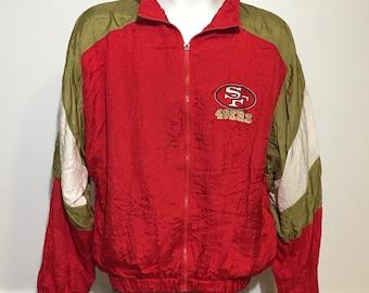 Vintage San Fransisco 49ers Windbreaker L