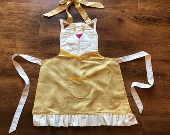 Kid's Kitty Apron