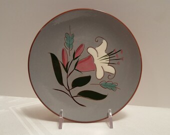 Stangl Pink Lily 6'' Plate #3888