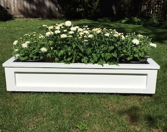 AVAILABLE:  Cedar Window Box / Flower Planter / Rustic / Farmhouse / Planter Box / Custom Orders / Custom Carpentry / Home and Garden