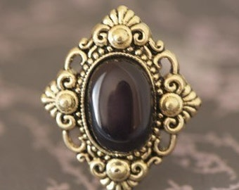 Neoclassical Vintage Inspired Ring