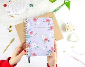 Life Planner Notebook Flores