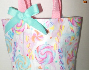 Pastel Candy and Lollypop Tote Bag