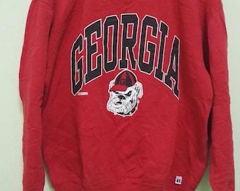 Vintage Russell Athletic Georgia Sweatshirt