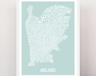 ADELAIDE - Large Suburban Screen Print