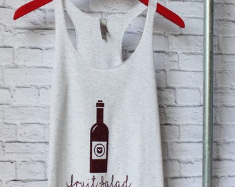 Funny Wine Tank - Wine Shirt - Wine Tank - Funny Saying Tee - Saying shirt - Gym Shirt - Gym Tee - Gym Tank - by Pocketbrand