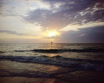 A majestic sunset