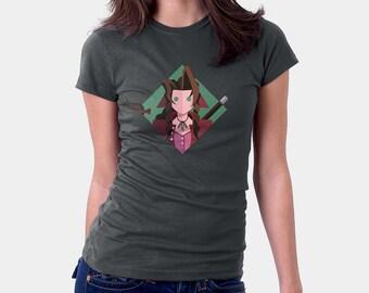 Final Fantasy 7 Shirt - Aerith Shirt | Aeris Shirt | T-shirt for Women Men | Video Game T-shirt | final fantasy tshirt | ffvii tshirt