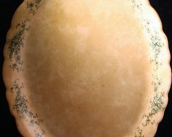 Antique Ceramic Platter * Buffalo Pottery