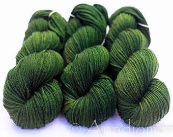 Cashmere Sock - Olive Grove - Colour Adventures (Merino, Cashmere, Nylon)