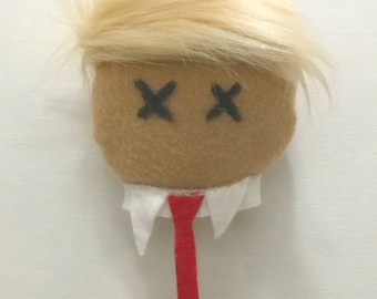 Voo-Doo Doll Head (Makes a GREAT STOCKING STUFFER)