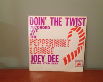 "Joey Dee and His Starliters ""Doin' The Twist"" vinyl record"