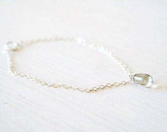 Winter Solstice -  A Sterling Silver bracelet - simple everyday delicate minimal jewelry