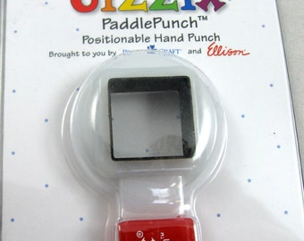 Sizzix Paddle Punch Square No.1  38-0827