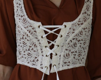 Bohemian Gypsy Elf Pixie Romantic Lace Top