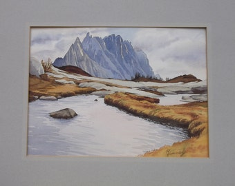 Enchantments, A watercolor painting by Ramona Hammerly