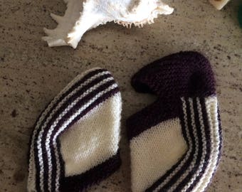 Knitted House Slippers