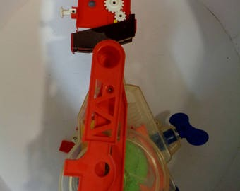 MR. MACHINE, Marvin Glass Design, Mechanical Robot,1977 Re-Issue,Cult TV Toy, Ideal Toys, Jig-Saw