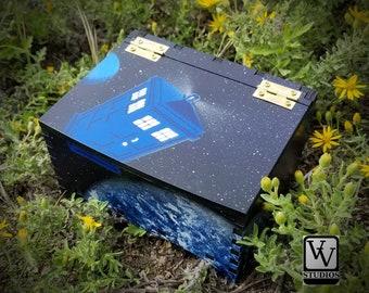 Tardis with Surprise Box Painted