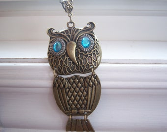 Owl Necklace - Free Gift With Purchase