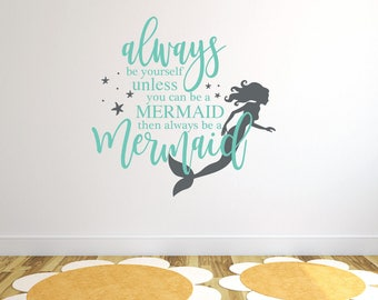 More Colors. Mermaid Wall Decor ...