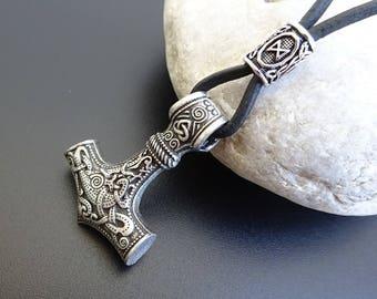 Mjolnir, Mjolnir Necklace, Viking Pendant, Viking necklace, Thors Hammer, Mjolnir  Pendant