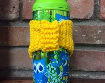Handmade, Knitted Reusable, Coffee Cozies, Coffee Sleeve,